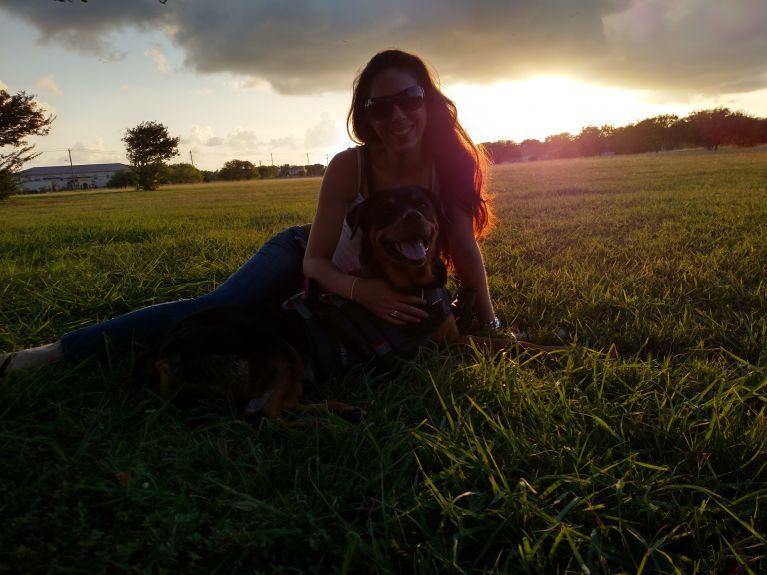 honeybear and sheena sunset